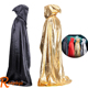 Ranphys cosmetic superman Halloween cosplay childrens 90cm 140cm black red cloak with tail