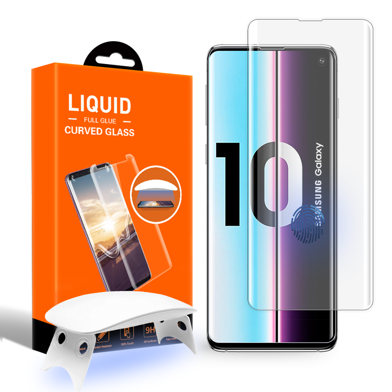 Full กาว UV Light UV Liquid สำหรับ Samsung Galaxy S10 S10Plus