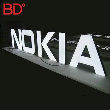 3d Custom Mobile Shop Sign Board Design Electrical Shop Names