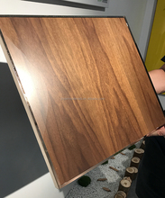 3mm 6mm 18mm 25mm Good quality matte surface real black walnut veneered MDF/plywood/particle board with UV coated