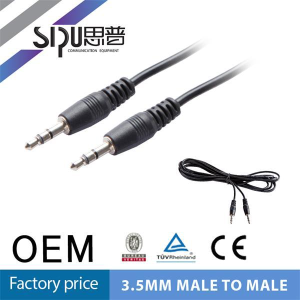 SIPU 3.5mm 4 pin headphone jack receiver jack 4-pole aux cable