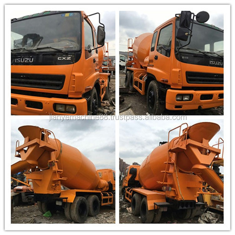 Best Selling Self Loading Concrete Mixer Truck