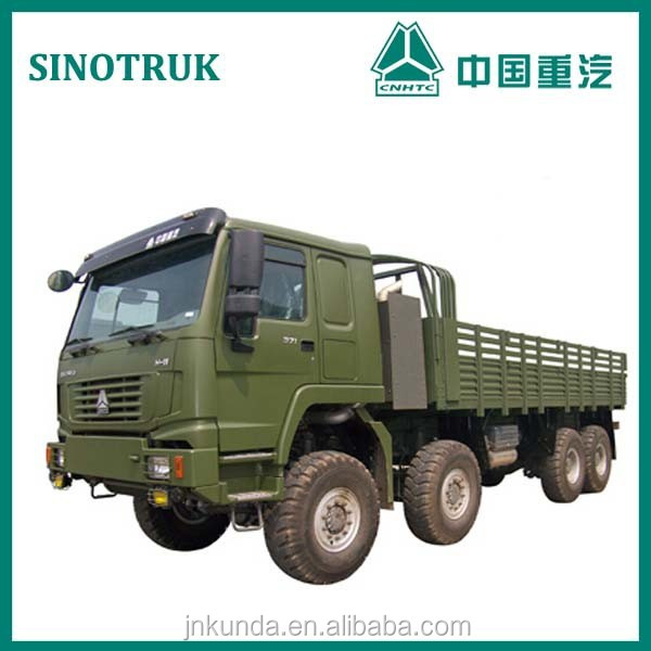 china HOWO 8x8 All-wheel Drive Truck/military truck supplier