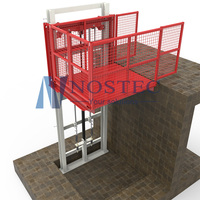 Factory cheap price store used vertical cargo lift