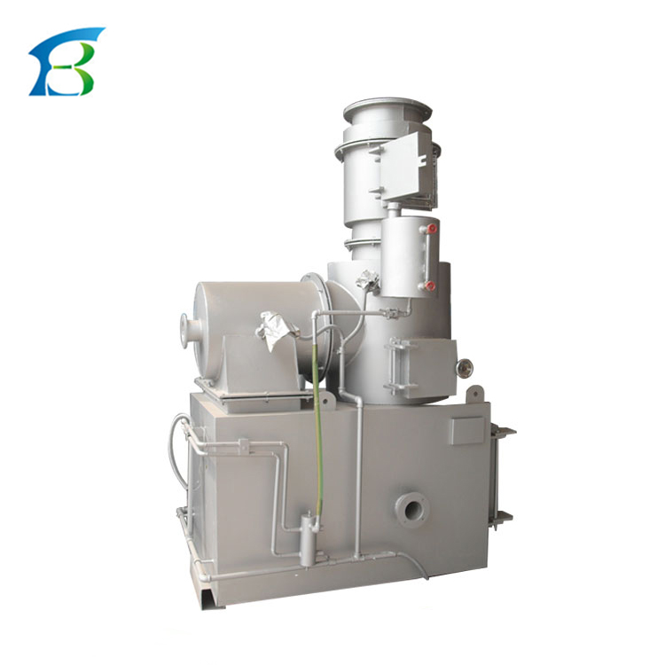 Animal Cremation Machine, incinerator machine with 3D video guide installation and operation