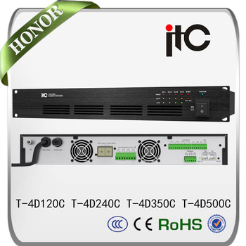 Itc Multiroom Audio System Power Amplifier 4 Channel - Buy 4 Channel Audio  Power Amplifier,Multiroom Audio System,Amplifier 4 Channel Product on