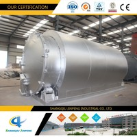 Advanced Technology Waste Plastic into Oil Used Tyre Pyrolysis Machine