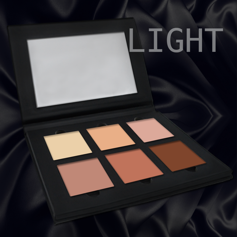 6 colors Contour Palette Contour Bronzer Highlight Make Up Palette