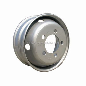 Professional manufacturer for cheap 6.75 19.5 tubeless steel truck wheel