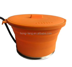 Emergency Kit,Mini Folded Outdoor Camping Pot With A Small Power Generator