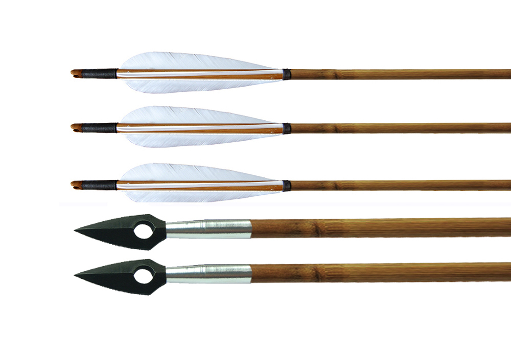archery recurve bow bamboo arrow wood arrow with various feather, View  recurve bow arrow, IRQ Product Details from Zhengzhou IRQ Outdoor Sports  Co ,