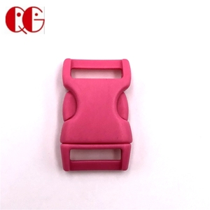 Colorful customizable logo side release plastic buckle