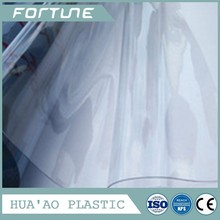 0.5mm clear pvc film