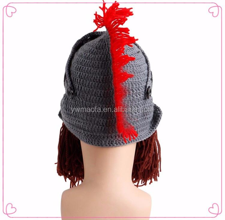 Römischer Soldat Helm Hut Mit Plume,Griechischen Trojaner Bart Hut ...