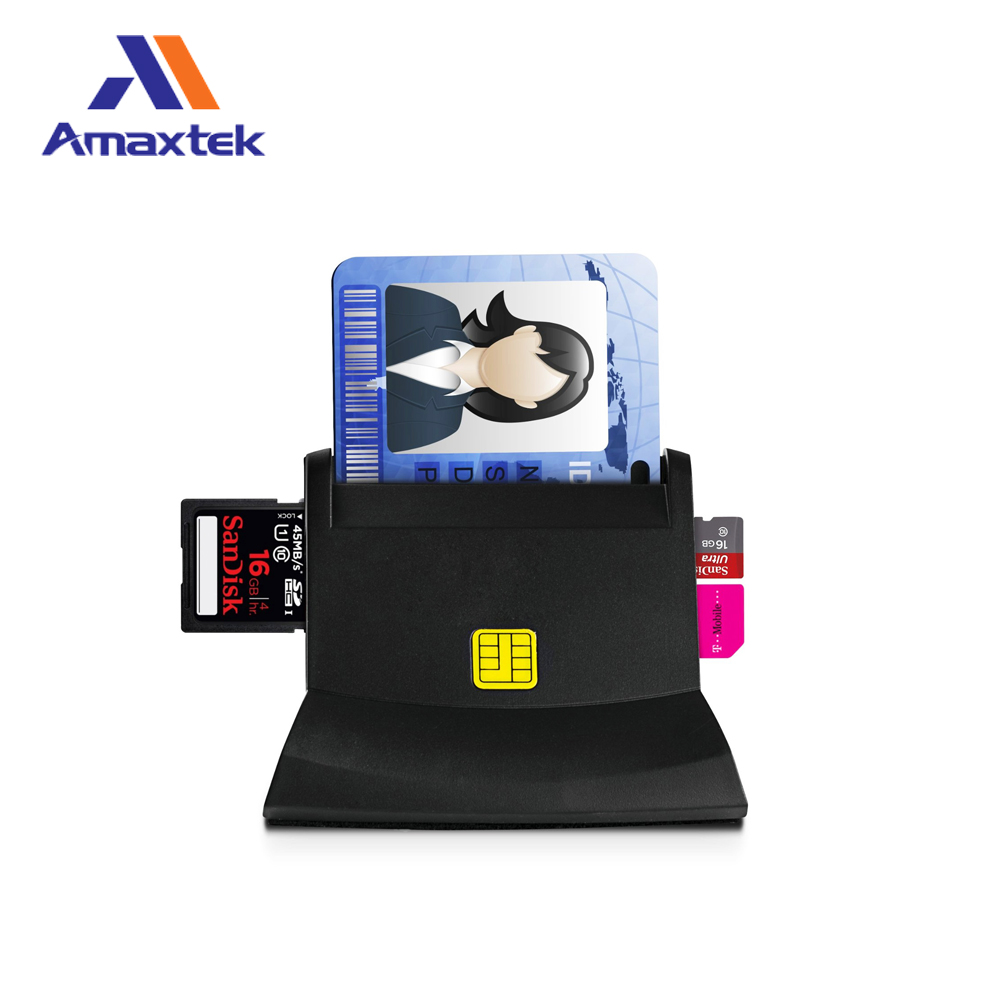 Prezzo di fabbrica di smart card reader writer USB SIM ATM lettore di IC card