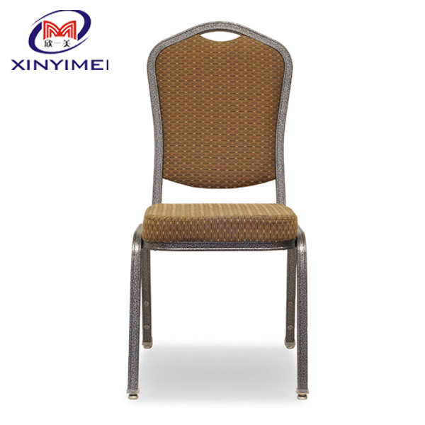 elegant stable stacking alumium banquet chair for five star hotel