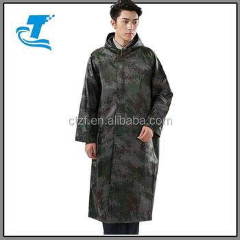 Fashion Mens Winter Waterproof Military Poncho Raincoat With Hoodie - Buy  Military Poncho Raincoat,Winter Men's Poncho,Waterproof Poncho Product on