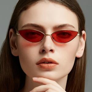 1b287c6d052 New Fashion Eyewear Men Women Ocean lens Cat eye Sunglasses Metal Sun  Glasses Vintage small