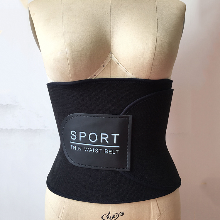 Fashion Factory Custom Back Protection Body Shaper Belt Slimming Waist Trainer Belt