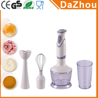4in1 200W AC Motor 2 Speed Juicer Stick Mixer Chopper Egg Beater Hand Held Immersion Blender Hand