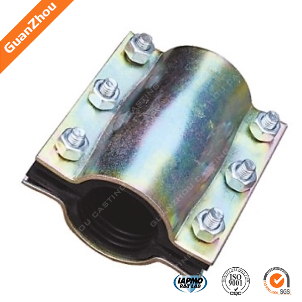 pipe fitting Saddle clamp through alibaba trade assurance 2016 new style saddle clmap from China factory