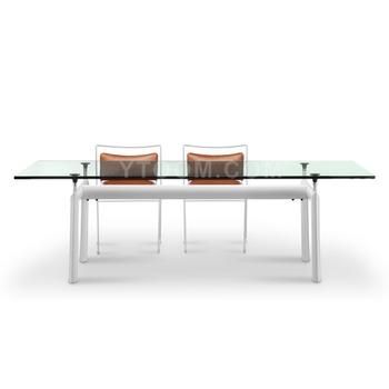 Le Corbusier Lc 6 Tavolo In Vetro Mobili Classici Replica Fabbrica ...