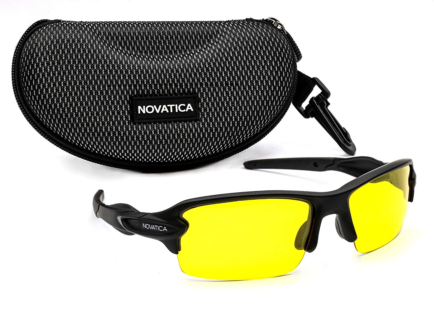 729f0a3cc6e NOVATICA Anti-Glare Night Driving Polarized TAC Glasses - HD Vision - UV  400 Protection