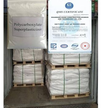 Polycarboxylate Based Superplasticizer With High Range Water Reducer