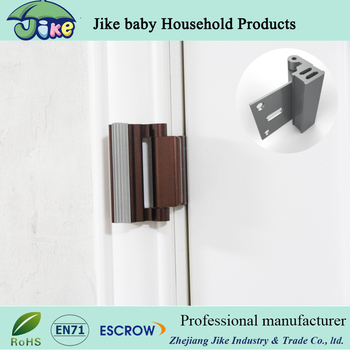 The Door Guardian Strike Plate Reinforcement Lock For Baby