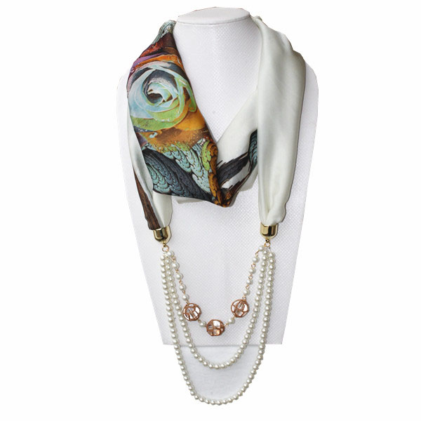Fashion women jewelry necklace pendant scarf
