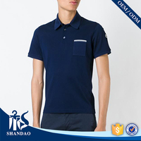 Guangzhou shandao factory short sleeve 200g 50%cotton 50%polyester mens stylish india wholesale clothing