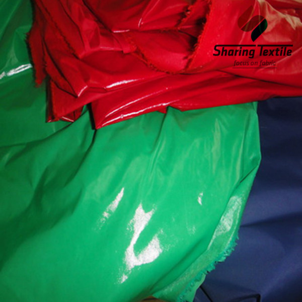 Manufacture Directly Oil Cire 20D Nylon Taffeta Fabric/Oil Cire Bright Pu Coating 20D Taffeta/Bright Pu Coating 20D Taffeta