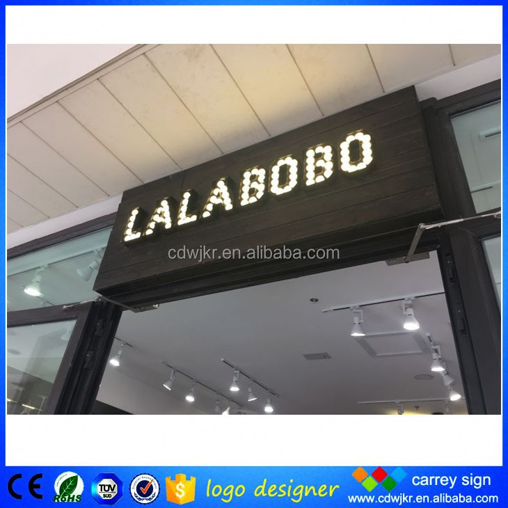 High quality led outdoor marquee MR and MRS sign with competitive price