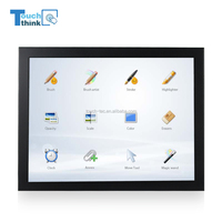 IP66 HD Industrial TFT LCD 12 inch Capacitive Touch Screen Industrial Mount Monitor