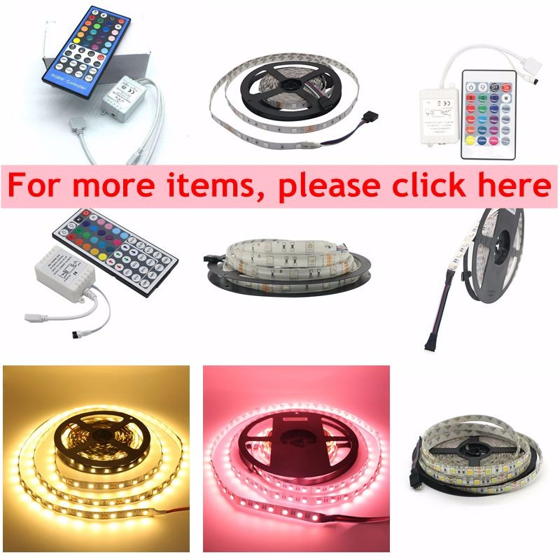 12V 6803 IC 133 Magic Dream Color LED Flexible RGB Strips Light 30LED/M IP67 SMD 5050 Tape +Controller