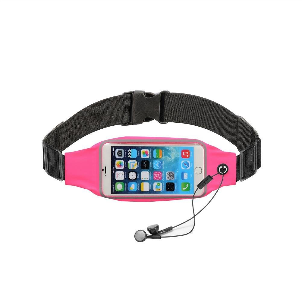 Man and woman outdoors pockets can touch waterproof ultra-thin multifunctional riding running mobile phone package