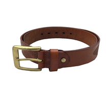 Customized Genuine Leather Strap Belt