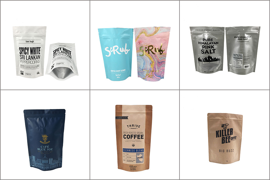 Hot selling wholesale custom printing valve and tin tie aluminum foil  side gusset coffee packaging bag