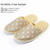 2019 stylish disposable Comfortable soft cotton hotel bedroom eva slippers for women 5 star hotel supplies