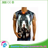 Hot Sale Custom Baseball T-Shirts With 3D Animal Print Your Logo