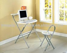 folding table and chair
