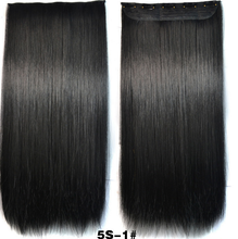 Free shipping express China supplier Ombre Synthetic Clip in Hair Extension straight
