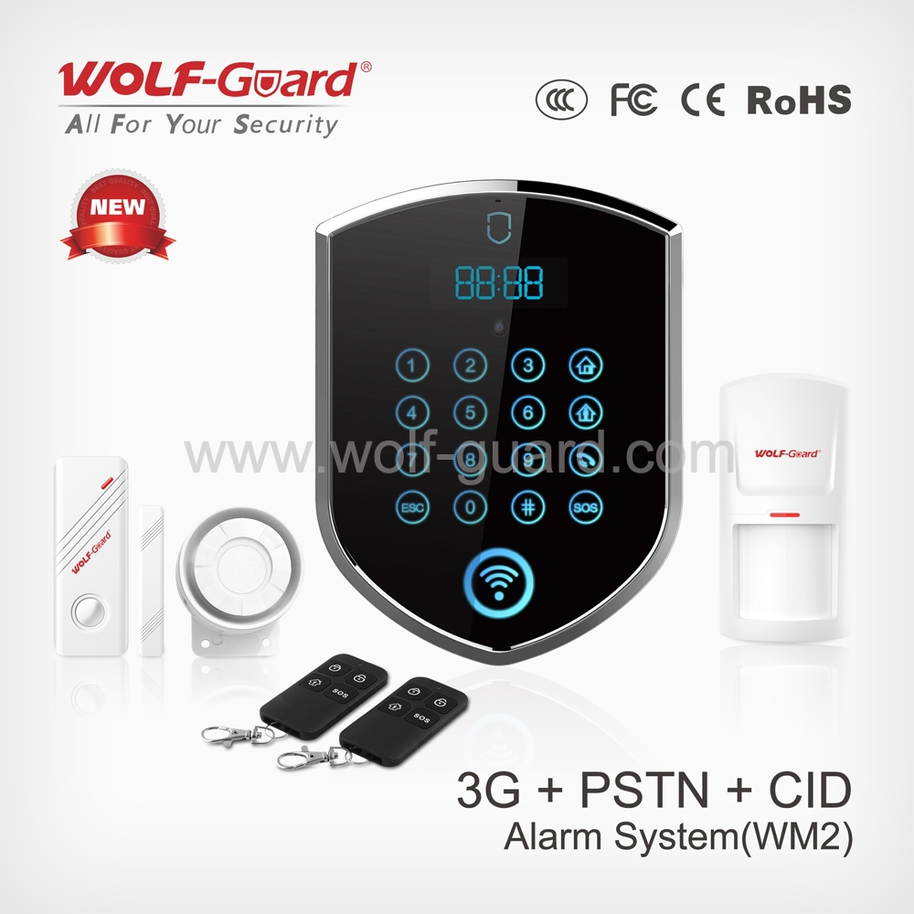 China Factory OEM/ODM GSM security wireless smart security alarm system YL-007WM2 wireless home gsm home burglar alarms