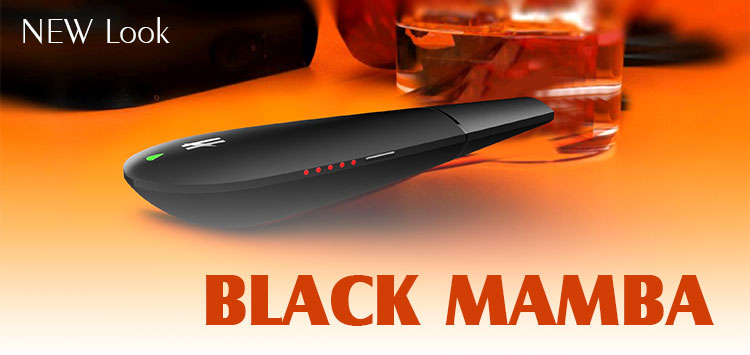 wholesale Chinese supplier Black Mamba dry herb vaporizer pen