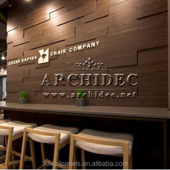 Wood Wall Art Use In Coffee Shop Buy Wood Wall Art 3d Wall Wood Covering 3d Wood Wall Design Product On Alibaba Com