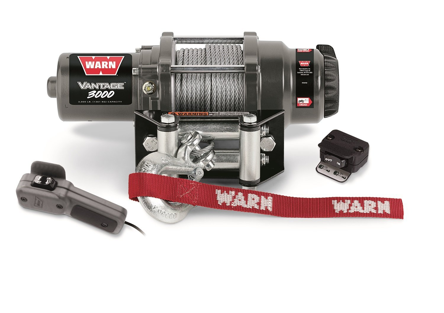 Cheap 12v Winch Motor Find Deals On Line At Alibabacom 12 Volt Warn Solenoid Wiring Diagram Get Quotations 99388 Vantage 3000 Lbs 1361 Kg Permanent Magnet 50