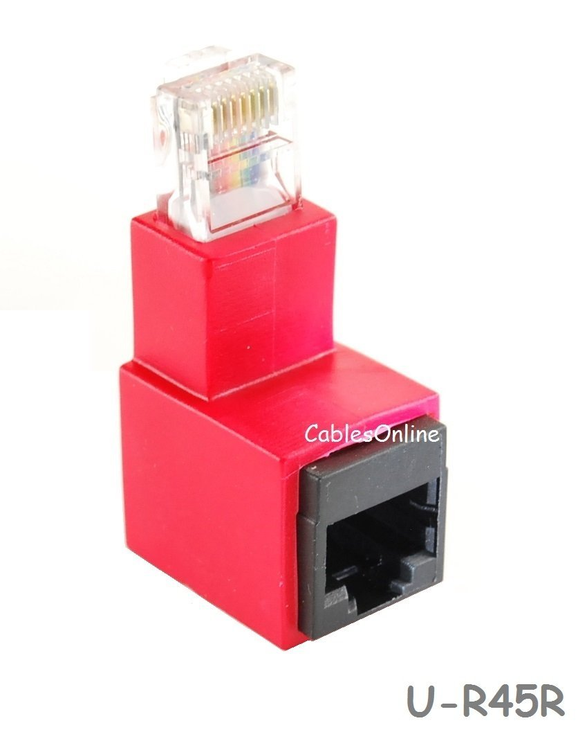 200 Pieces, Cat 6 Ansice Shielded Connector Network Cable Modula RJ45 CAT6 End Pass Through Gold Plated Ethernet