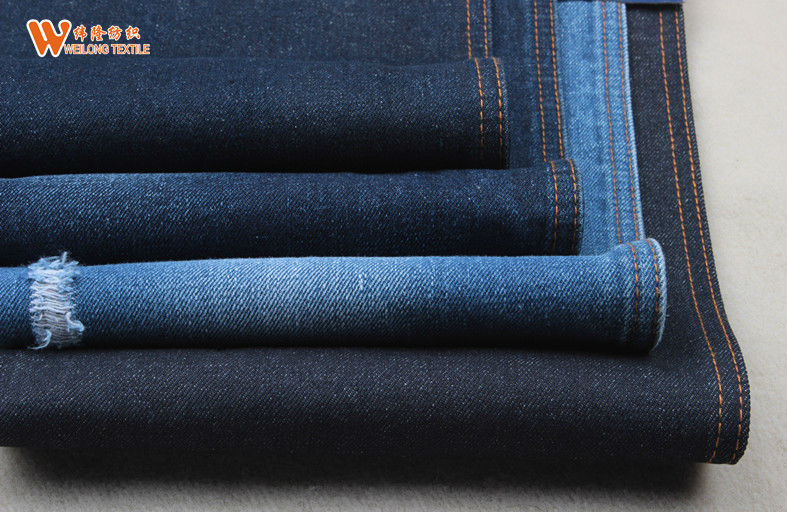 B2161 pure cotton 14oz tradition denim fabric cotton waste cloth wholesale
