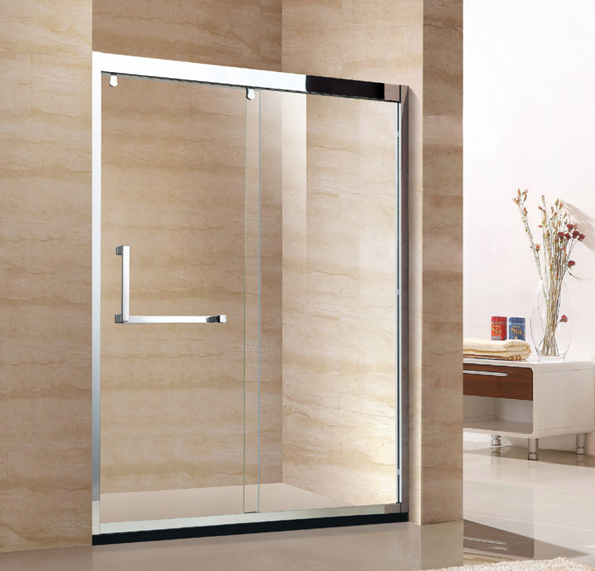 wholesale price bathroom stainless steel shower screen D52
