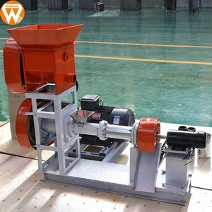 Strongwin reliable reputation extruder machinery floating fish feed making machine